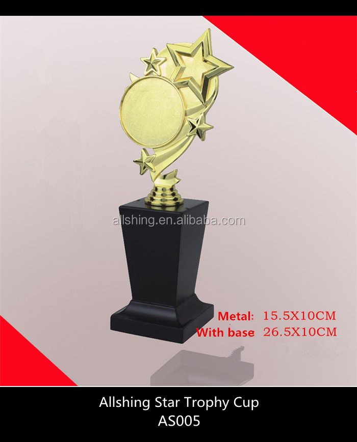 Wholesale Tophies Medals China /oscar star trophy award plate for souvenir