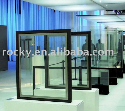 Thermal double glazed sealed unit glass