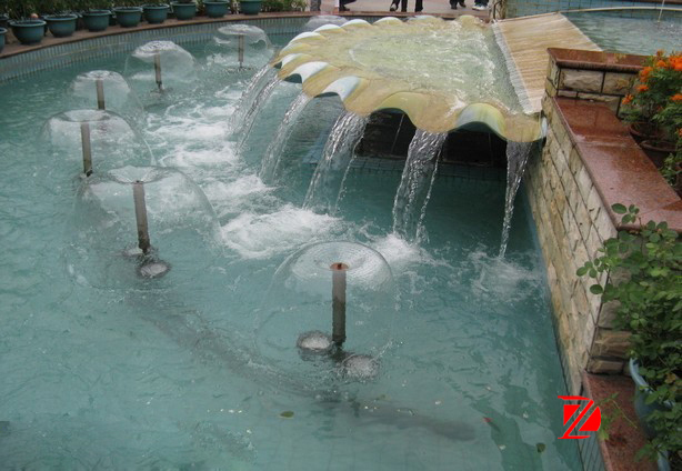 sandstone water feature fountains