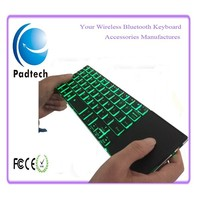 Mini Keyboard Touchpad 2.4Ghz Wireless Keyboard with Backlight