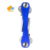 Smart Compact Key Holder and Keychain Organizer 2-14 Keys blue