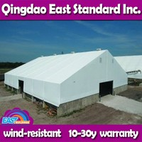 East Standard fast construction lightweight steel industrial buildings