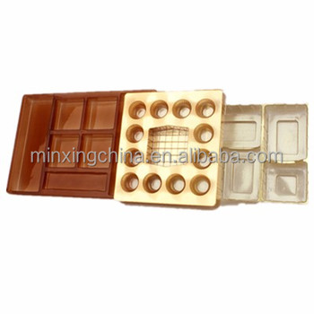 fancy candy plastic tray inserts
