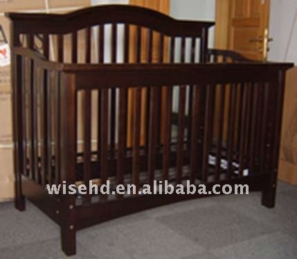 W-BB-71 baby wooden bed