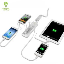 High compatibility 4 PORTS MULTI android tablet charger WITH smart IC INSIDE