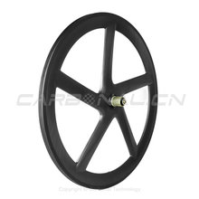 700c Road Bike Track Wheels 5 Spoke Fixed Gear Bicycle Carbon Wheel