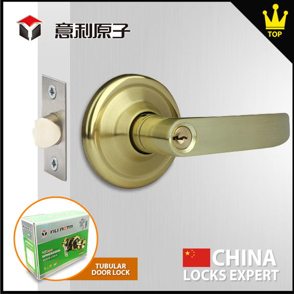 Zinc alloy material The best tubular handle lever lock