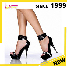 ABS/PC platform sexy ladies platform Sandal beautiful crazy Pole dance shoes