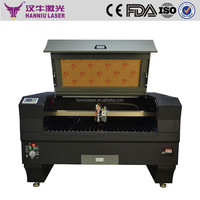 HQ-1390 Hanniu high quality China laser cutting machine for metal and non-metal