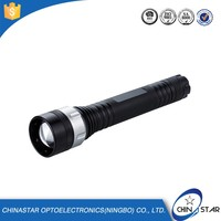 Passed SGS high light range geepas flashlight charger