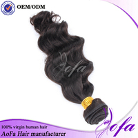 Cheap Wholesale custom brazilian human hair weave with short lead time