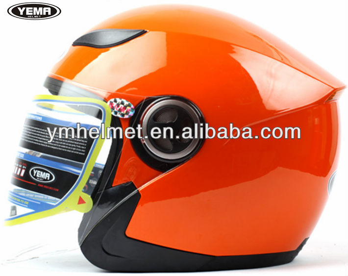 ECE design High-quality open half face moto helmets YM-619