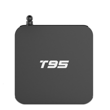 2017 T95 4K IPTV box Arabic TV Set top box with 5000 International Channels Android TV box T9S Amlogic S905
