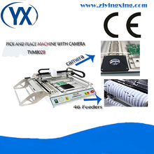 Advanced SMT Pick And Place TVM802B PCB Equipment Led Manufacturing Machine With Camera And Visual System
