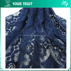 140-145cm Diamond Flower Nylon/Cotton Fabric Lace