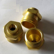 Precision brass machined parts threading lathe machine parts