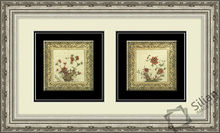 Flowers Combination For Painting Decoration Crystal Modern Picture Frame 1
