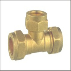 Brass Equal Tee PP Pipe Fitting