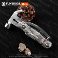 Small Multi-function Stainless Steel Outdoor Nail Claw Hammer
