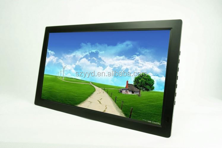 19 inch touch screen full formats HD digital photo album portable digital frame