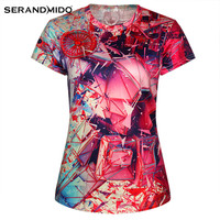 Custom Polyester Sublimated Design 3d T