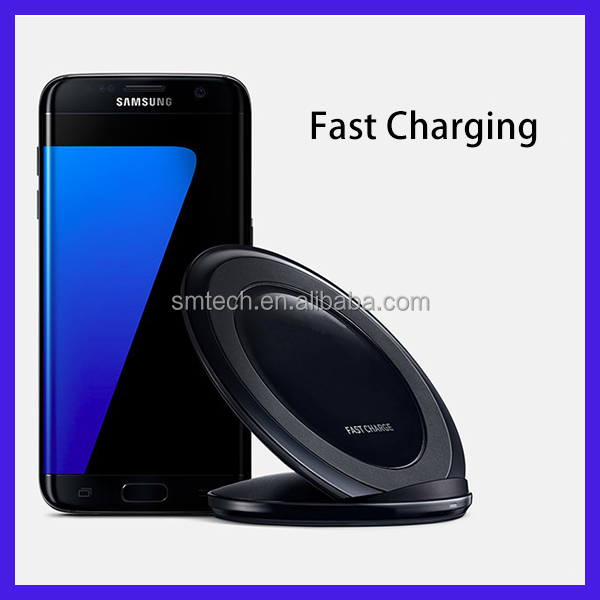 Fast wireless charger desktop qi compatible wireless charging stand