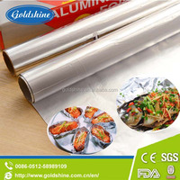High quality household disposable aluminum foil laminated paper