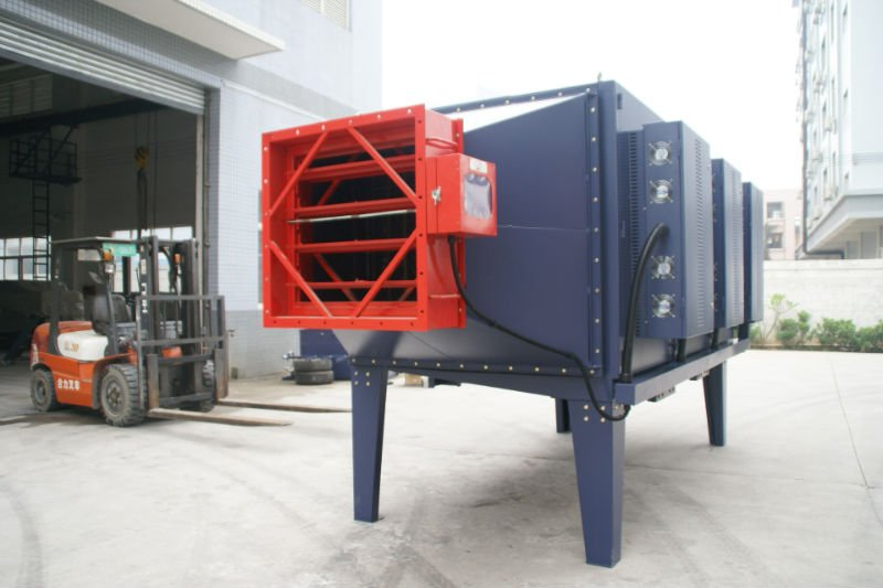 Industrial Smog and Mist Collection System with Electrostatic Air Filter