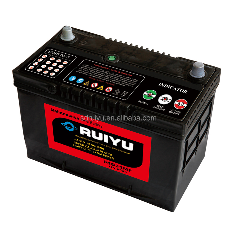 2015 best selling products 12v75ah lead acid starting sealed car battery