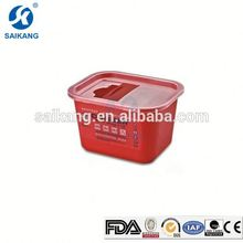 CE Certification Durable Disposable Container For Sharps
