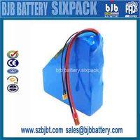 Rechargeable 18650 li ion battery 36v 48v 60v 72v 5.5ah 16ah 20ah 30ah 60ah battery for e- bike & golf cart