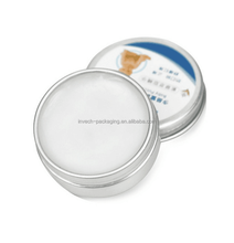 round aluminum tin with screw lid,wax cream aluminum can 20ml lip balm tin can