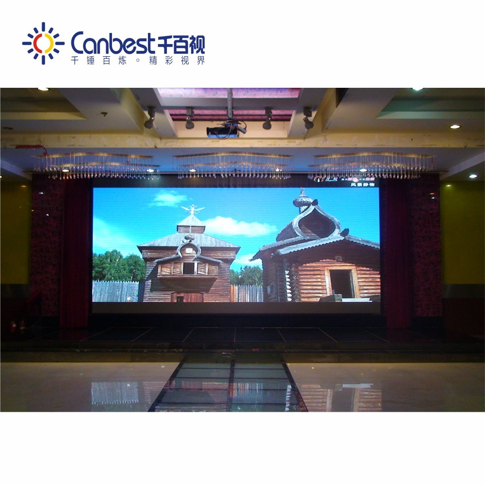 Front and rear maintenance P1.5 indoor advertising hd led display screen