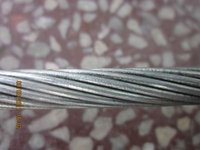 7 wire strand mixed mischmetal alloy-coated steel wire strand