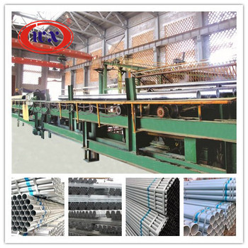 automatic line for machine galvanizing