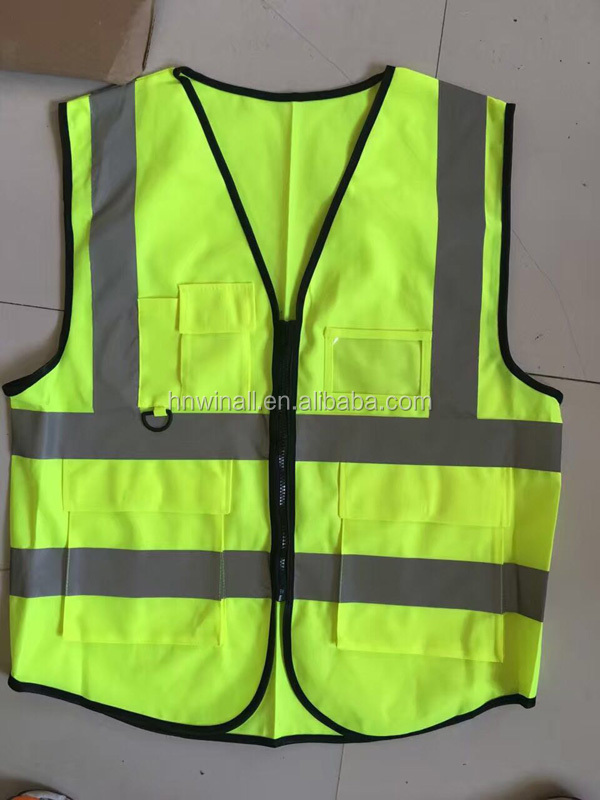 Good Quality Traffic Safety Jackets For Road Warning