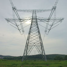 high quality tower 132kv transmission line