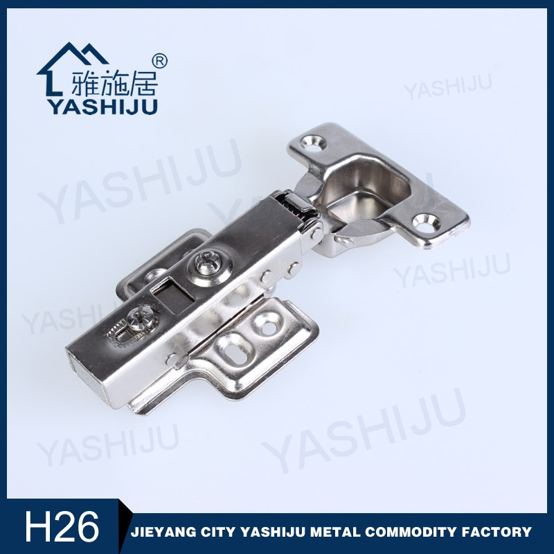 YASHIJU H26 Jieyang Furniture Hinge Type 35mm 110g Clip On Soft Opening Hinge, Concealed Hinge, Hydraulic Hinges