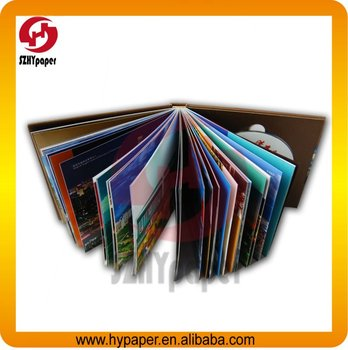 High quality promotion hardcover book printing