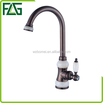 FLG cheap hot sale basin faucet bathroom antique brass