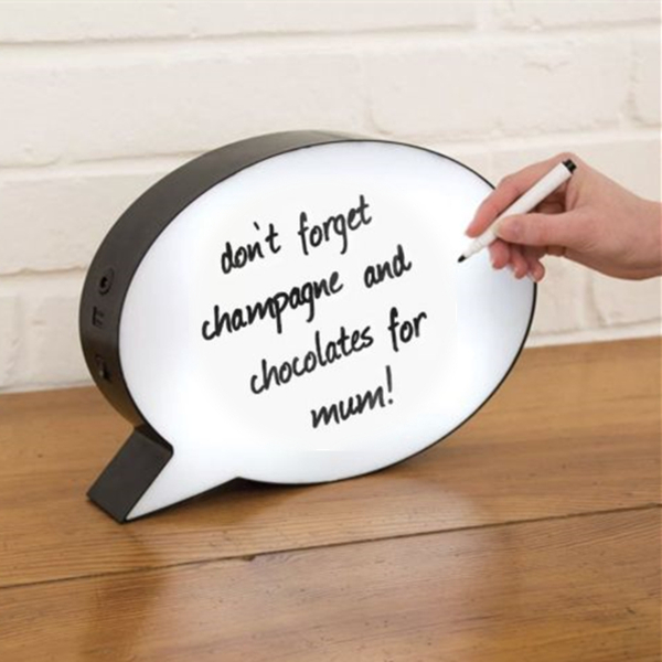 Light me up light box Flexible led message board