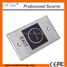 Good quality infrared no touch exit push button for access control system door exit switch