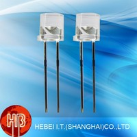 Led Diode: Oval,Square,Rectangular,Stawhat,Flat Top,10mm,8mm,4mm,2mm,1.8mm In Many Colors