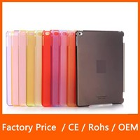 New Style Colorful Ultra Thin Protective Transparent Clear PC Case For Apple iPad Mini