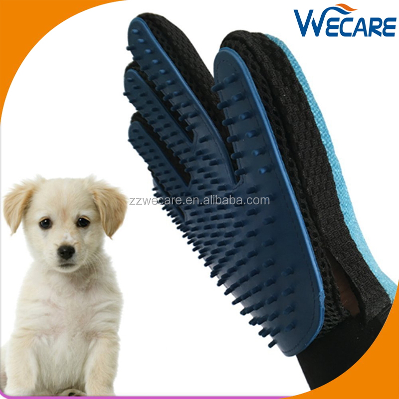 2 in 1 Pet Glove Grooming Tool and Furniture Pet Hair Remover Mitt