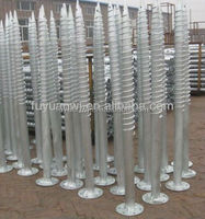 concrete round pole anchor with factory price and good quality