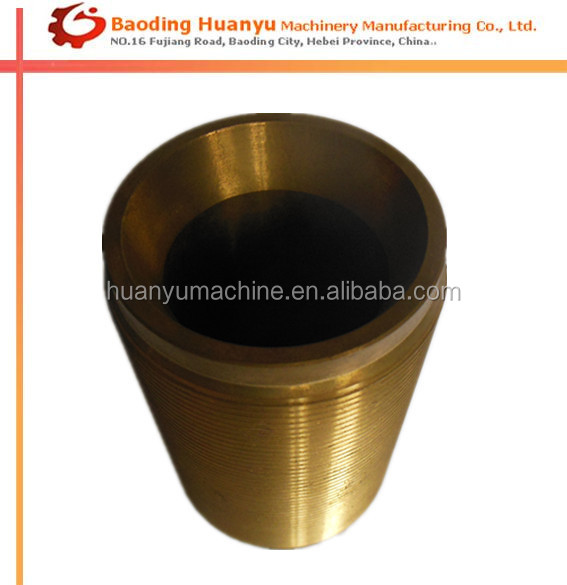 Threaded Tube Parts Steel of Machining Parts