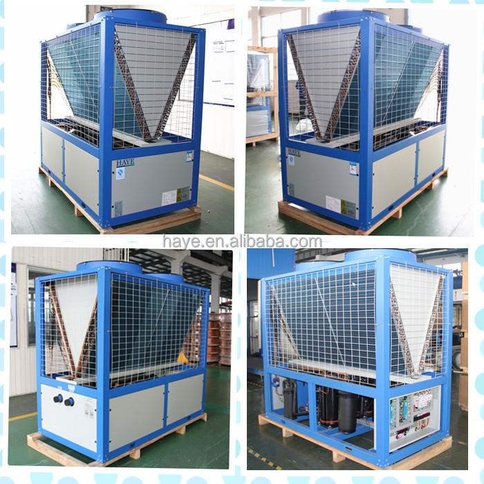 Air cooled modular heat pump unit (50-100kw cooling capacity; 60-105kw heating capacity)