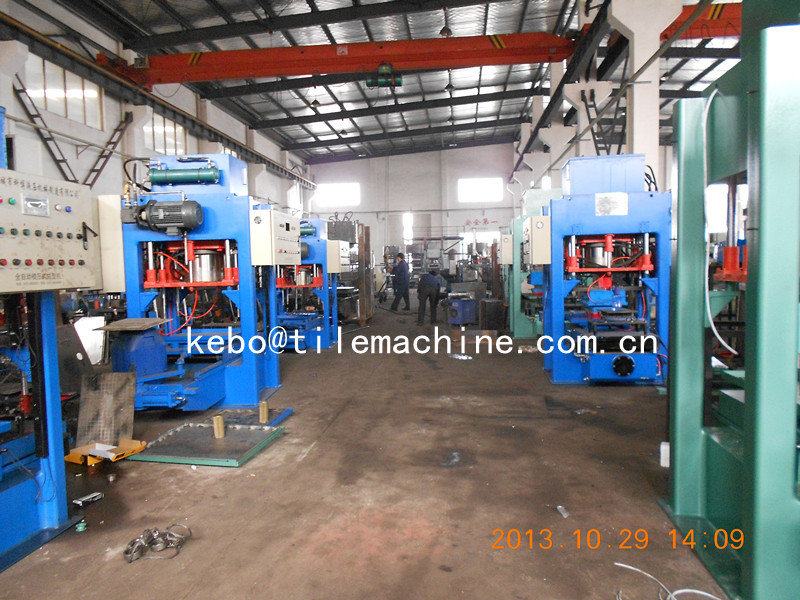KB125E600 floor tile making machine price