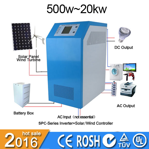 3000w high frequency pure sine wave solar power inverter 12v 220v